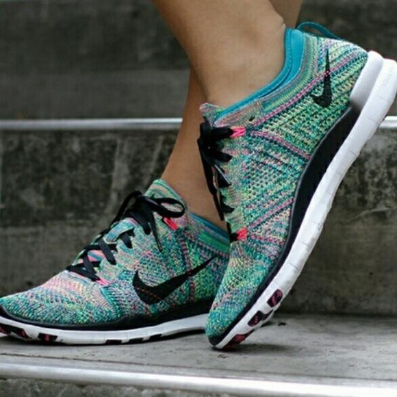 premium selection ed42e 212f7 Nike Free TR Flyknit 5.0 multicolor sneakers 9.5. M 5bfebc0004e33db776caa030